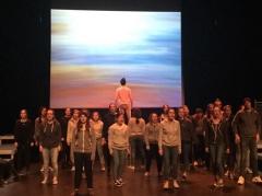 théâtre en résidence; lycée henri avril; première l; quai des rêves; théâtre du totem; enfermement